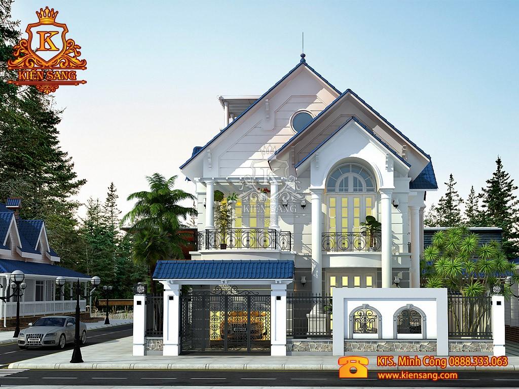 Nhà phố 2 tầng tân cổ điển ở Từ Sơn