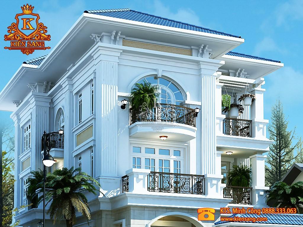 Nhà phố 3 tầng tân cổ điển tại Thanh Xuân