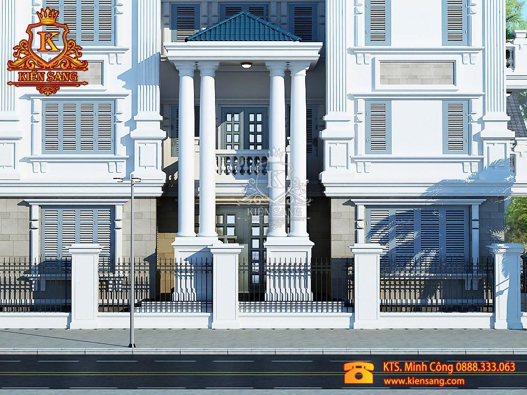 Nhà phố 5 tầng cổ điển tại 2 mặt tiền