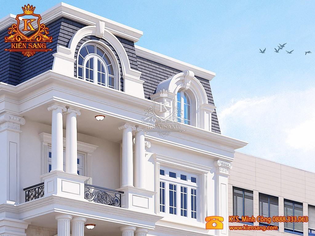 Nhà phố 5 tầng cổ điển tại Hải Dương