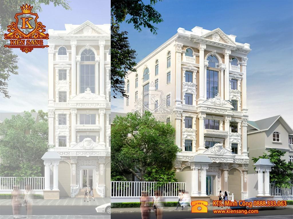 Khách sạn 5 tầng tân cổ điển tại Hải Phòng