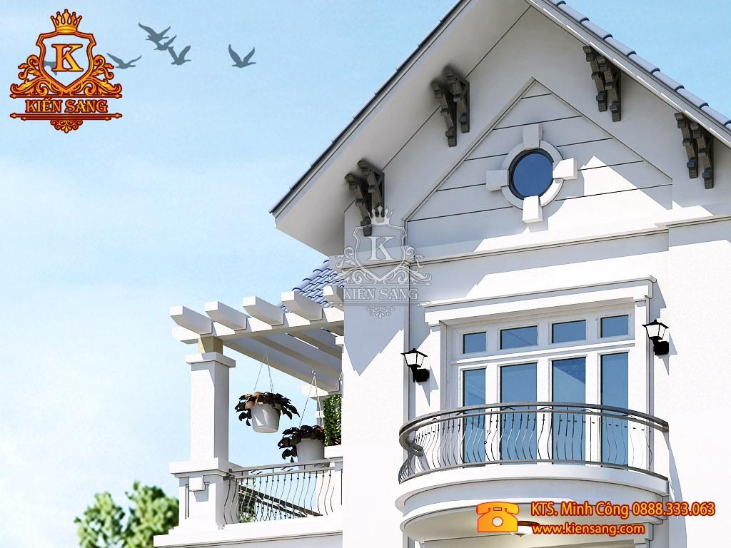 Nhà phố 3 tầng tân cổ điển tại Sơn Tây
