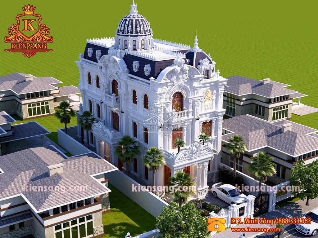 Top 10 biệt thự đẹp nhất quận Thanh Xuân