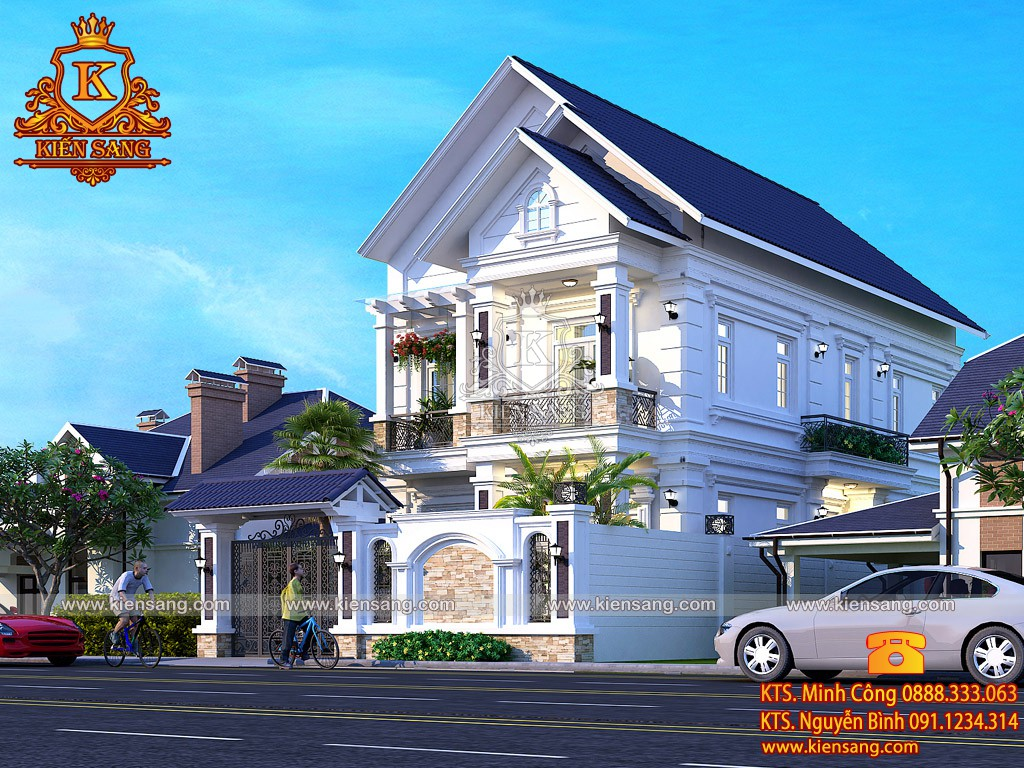 Biệt thự hiện đại 2 tầng tại Quảng Ninh