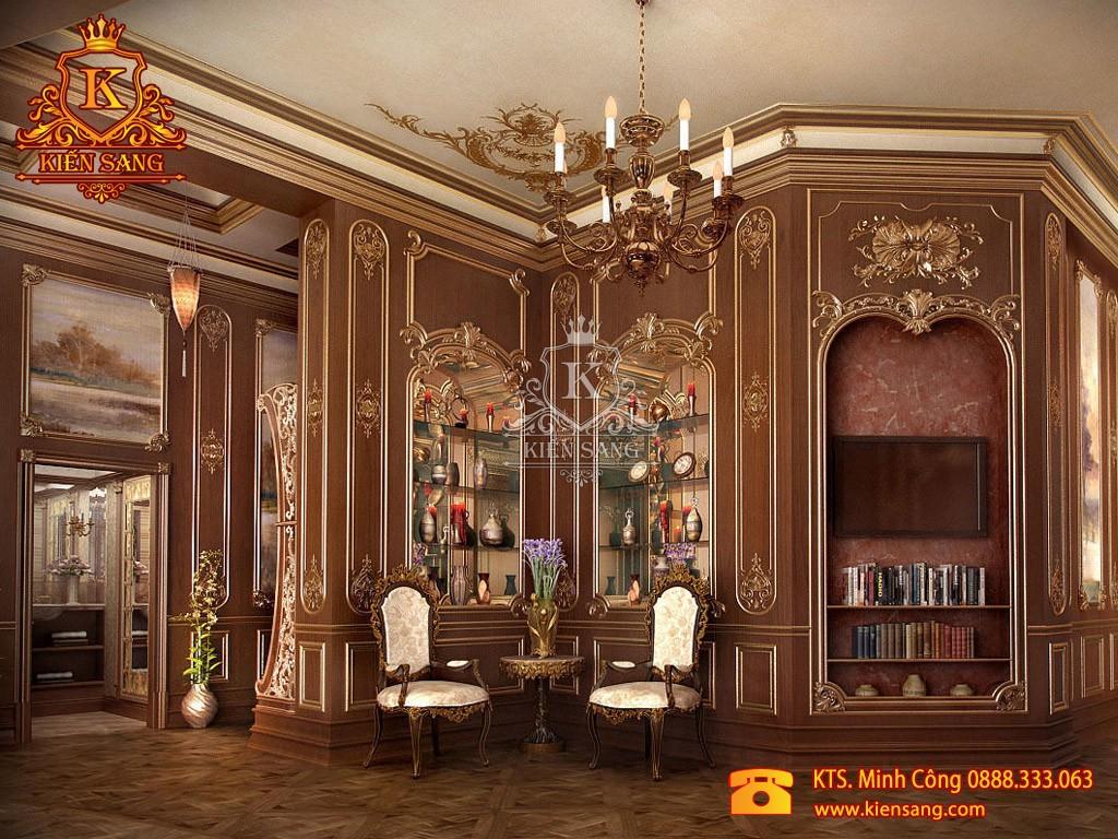 Nội thất biệt thự tân cổ điển tại Hoàn Kiếm