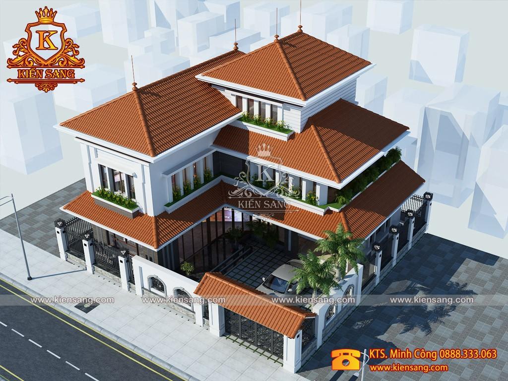 Top 10 biệt thự đẹp nhất phường Hàng Đào
