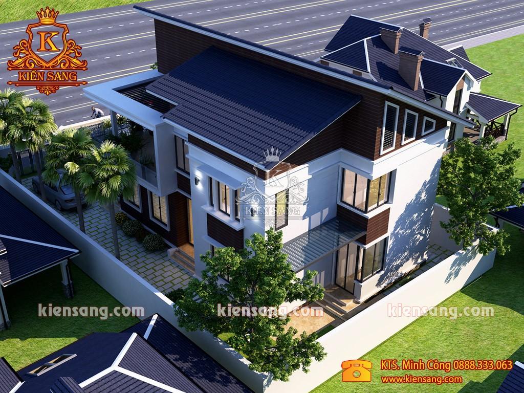 Cập nhật tiến độ thi công nhà biệt thự Anh Đại tại Vĩnh Yên, Vĩnh Phúc