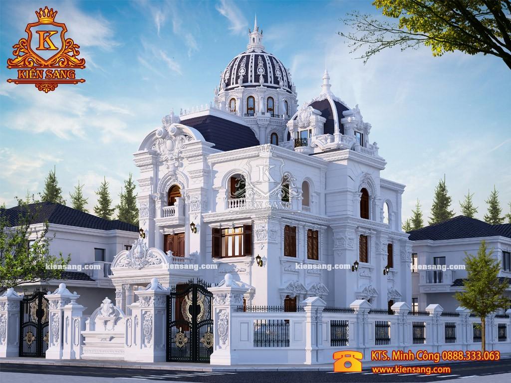 Biệt thự 4 tầng cổ điển tại Thanh Xuân