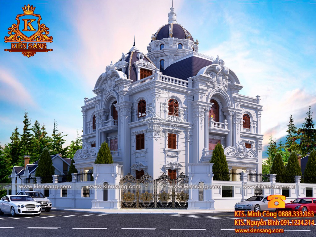 Top 10 biệt thự đẹp nhất phường Cô Giang