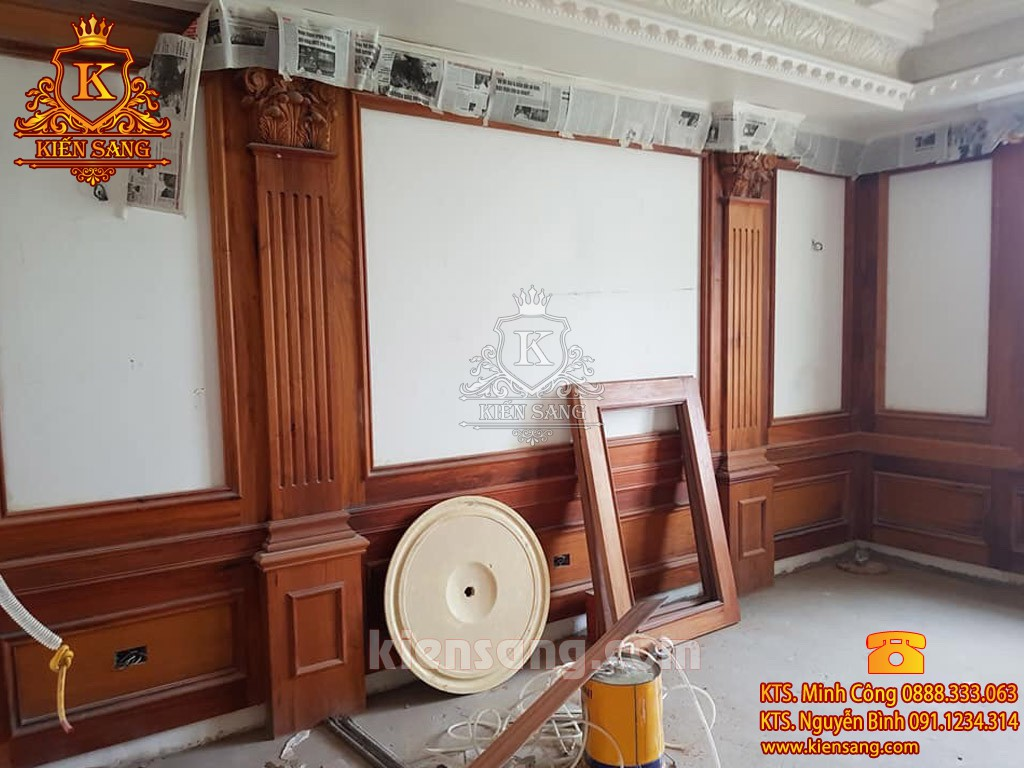 Nội thất đồ gỗ tân cổ điển tại Hà Nội
