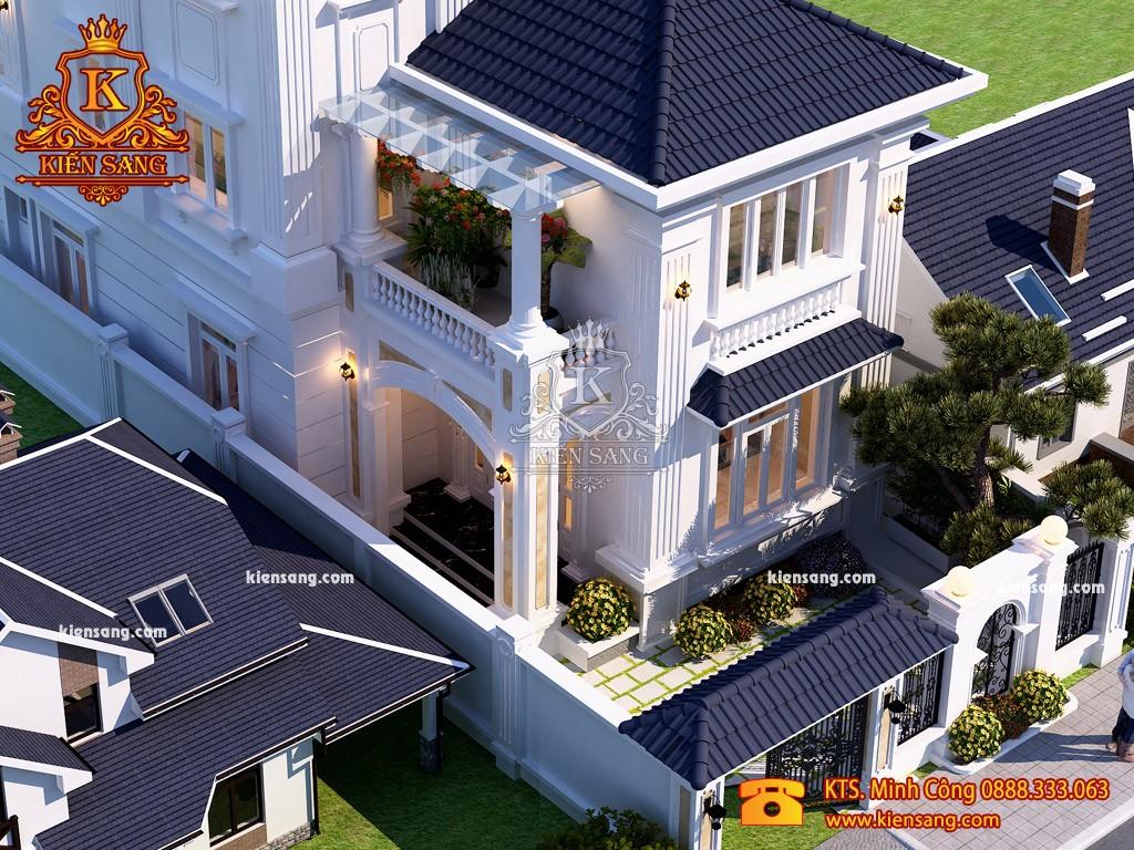 Biệt thự 3 tầng đẹp sang trọng
