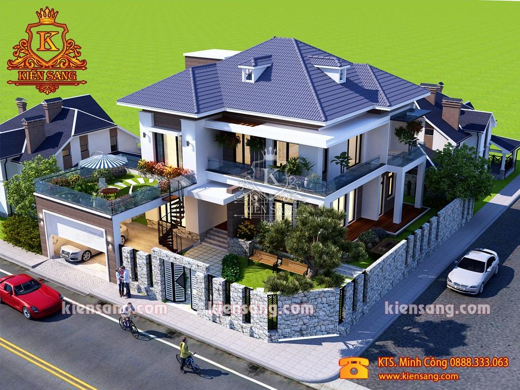 Top 10 biệt thự đẹp nhất phường Điện Biên