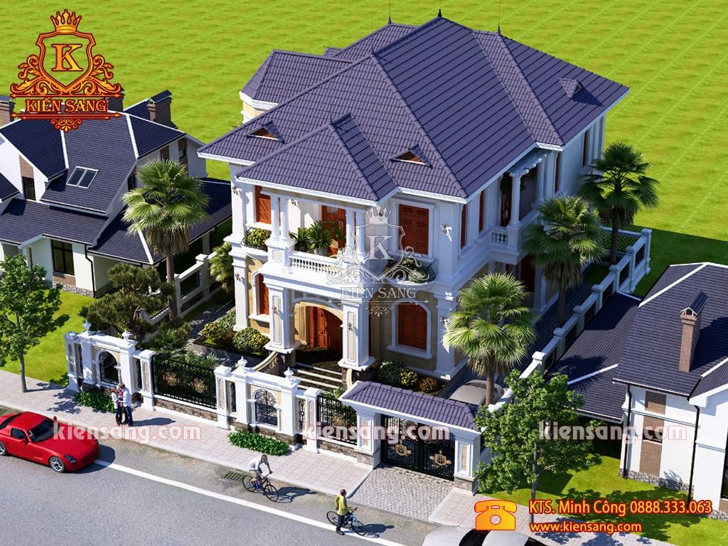 Top 10 biệt thự đẹp nhất quận Hà Đông