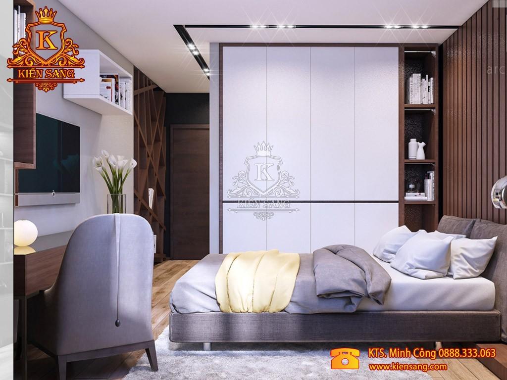 Nội thất chung cư hiện đại tại Long Biên