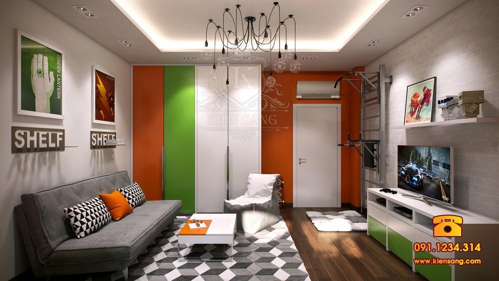 Nội thất chung cư hiện đại tại Hà Đông