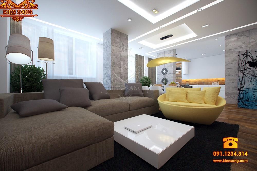 Nội thất chung cư hiện đại tại Sóc Sơn