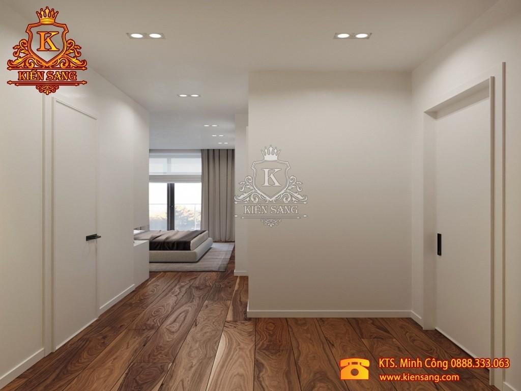 Nội thất chung cư hiện đại tại Mê Linh