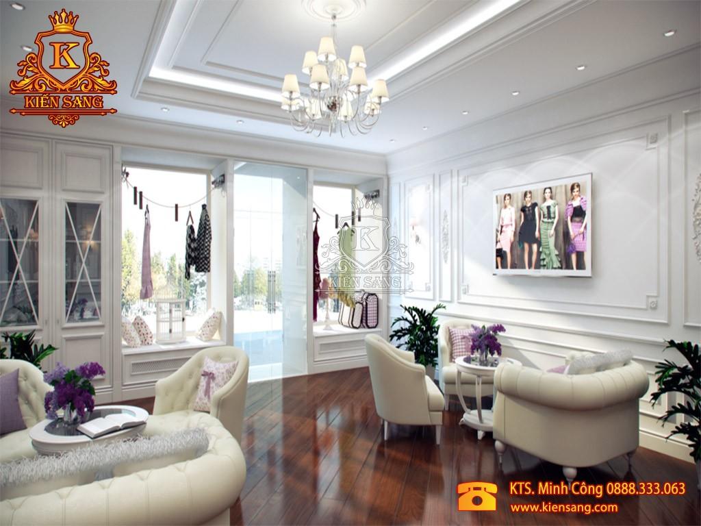 Nội thất chung cư tân cổ điển tại Hà Đông