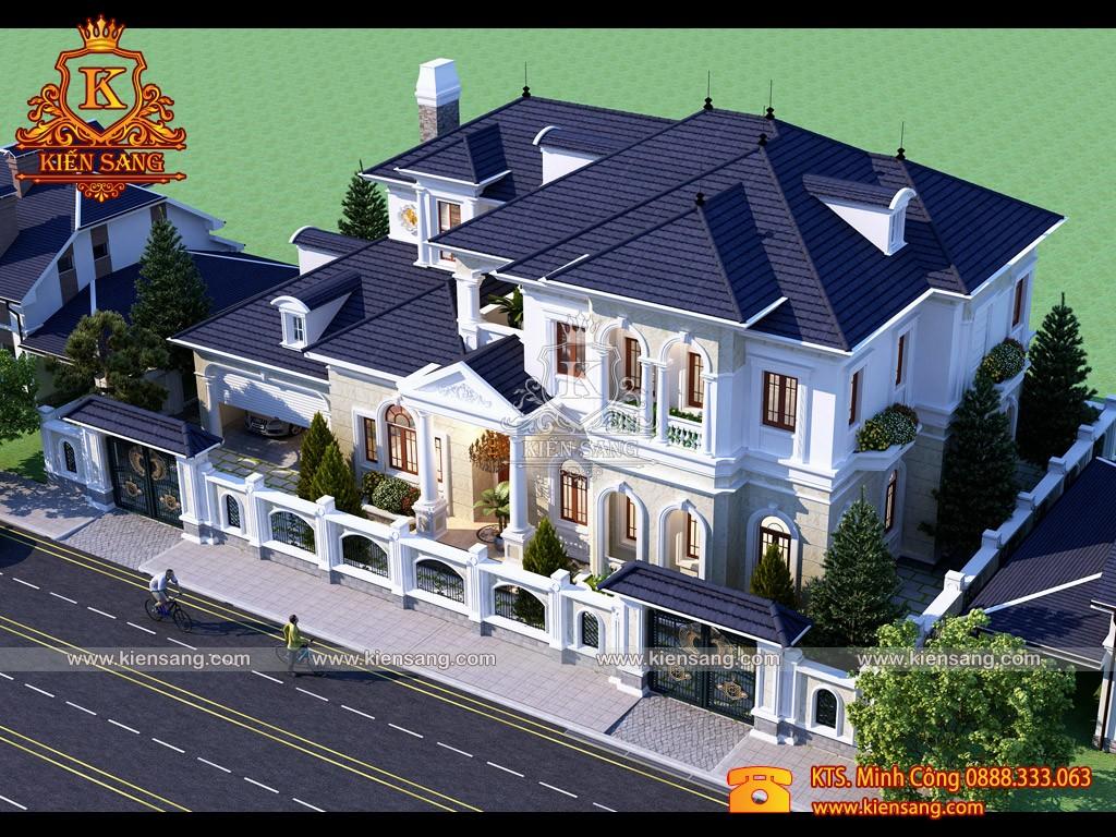 Top 10 biệt thự đẹp nhất phường Tứ Liên