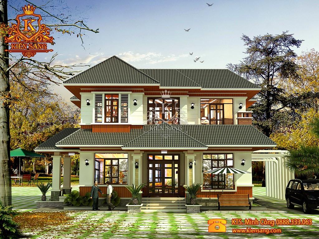 Thiết kế biệt thự tân cổ điển tại Điện Biên